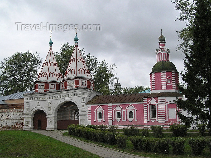 russia504: Russia - Suzdal - Vladimir oblast: Deposition Cathedral / Monastery - photo by J.Kaman - (c) Travel-Images.com - Stock Photography agency - Image Bank