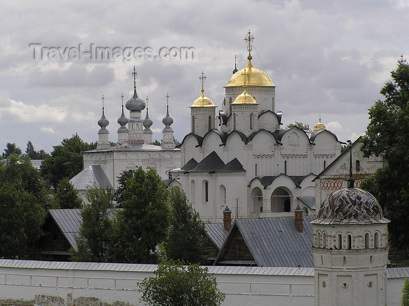 russia505: Russia - Suzdal - Vladimir oblast: Intercession Cathedral / Convent - UNESCO world heritage - photo by J.Kaman - (c) Travel-Images.com - Stock Photography agency - Image Bank