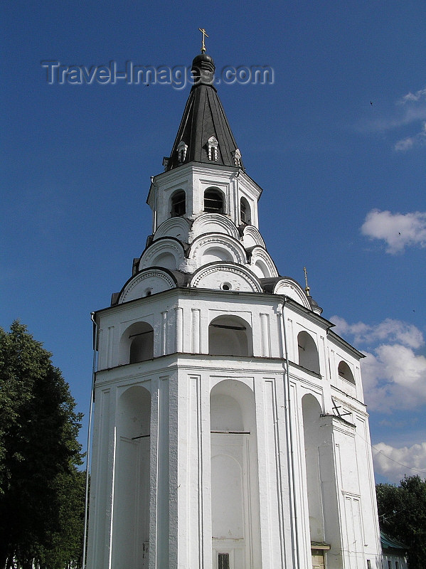 russia508: Russia - Alexandrov - Vladimir oblast: convent bell tower - photo by J.Kaman - (c) Travel-Images.com - Stock Photography agency - Image Bank