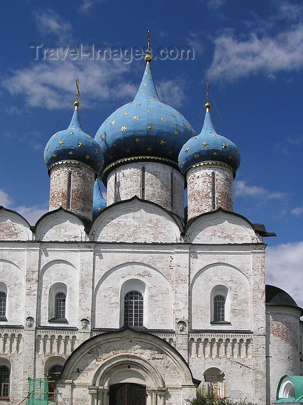 russia515: Russia Suzdal - Vladimir oblast - Golden Ring of Russia: Nativity of the Virgin Cathedral in Kremlin - photo by J.Kaman - (c) Travel-Images.com - Stock Photography agency - Image Bank