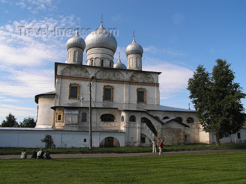 russia540: Russia - Velikiy Novgorod: Church of Our Saviour-at-Ilino - photo by J.Kaman - (c) Travel-Images.com - Stock Photography agency - Image Bank
