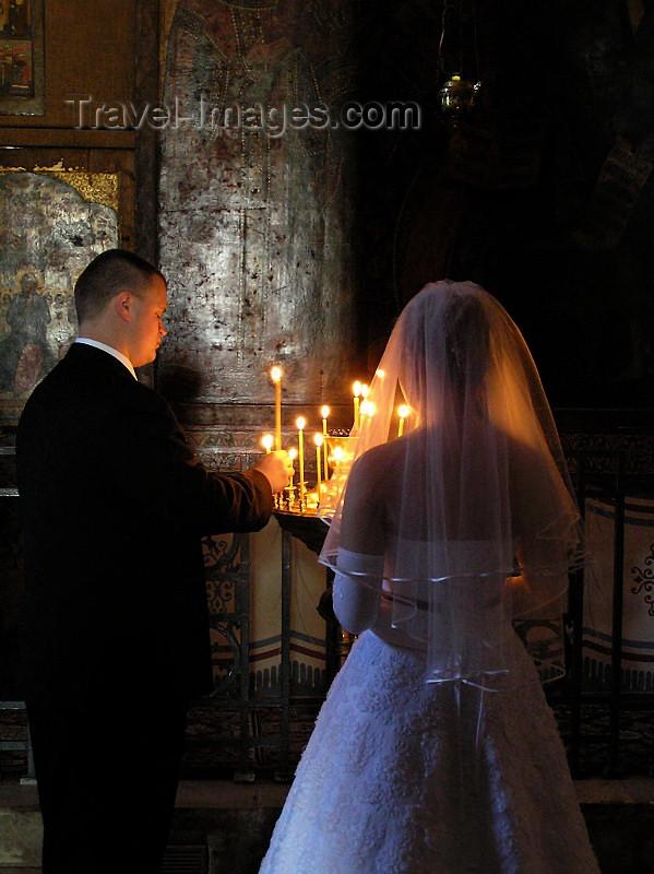 russia548: Russia - Velikiy Novgorod: Orthodox church wedding ceremony - photo by J.Kaman - (c) Travel-Images.com - Stock Photography agency - Image Bank