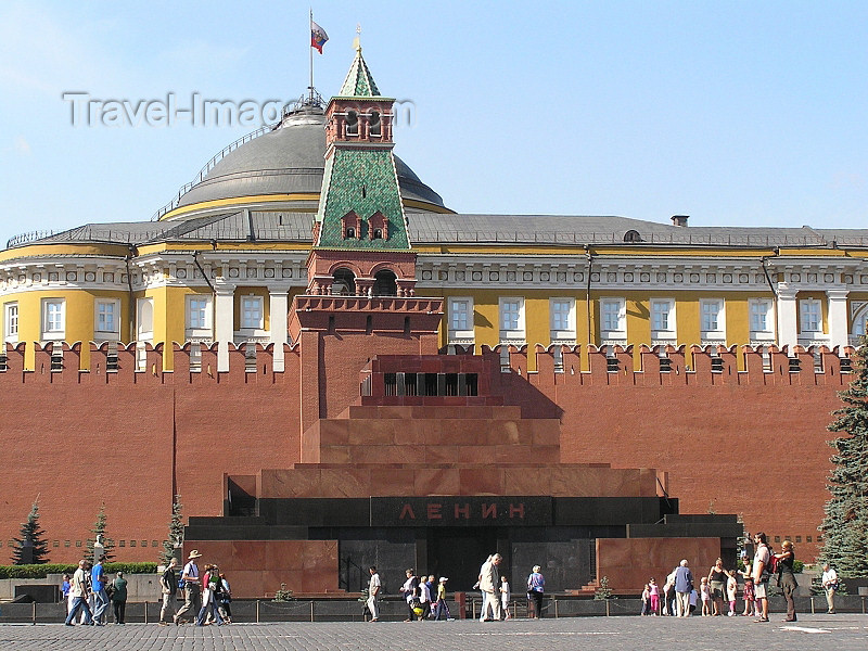 russia657: Russia - Moscow: Lenin's Mausoleum at Red Square - photo by J.Kaman - (c) Travel-Images.com - Stock Photography agency - Image Bank