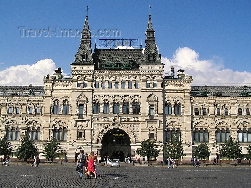 russia672: Russia - Moscow: GUM shopping mall - photo by J.Kaman - (c) Travel-Images.com - Stock Photography agency - Image Bank