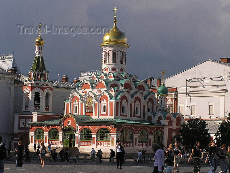 russia673: Russia - Moscow: Kazan Cathedral - photo by J.Kaman - (c) Travel-Images.com - Stock Photography agency - Image Bank