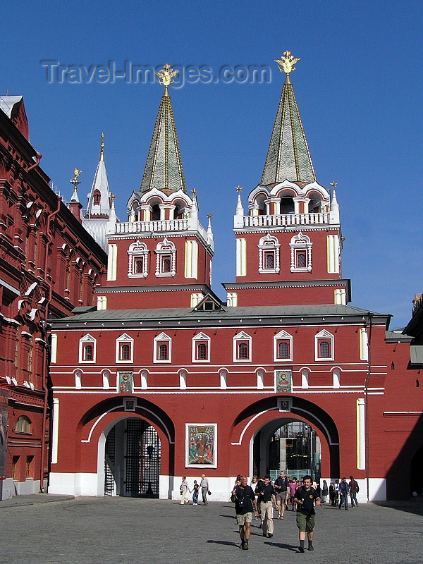russia676: Russia - Moscow: Resurrection Gate - photo by J.Kaman - (c) Travel-Images.com - Stock Photography agency - Image Bank