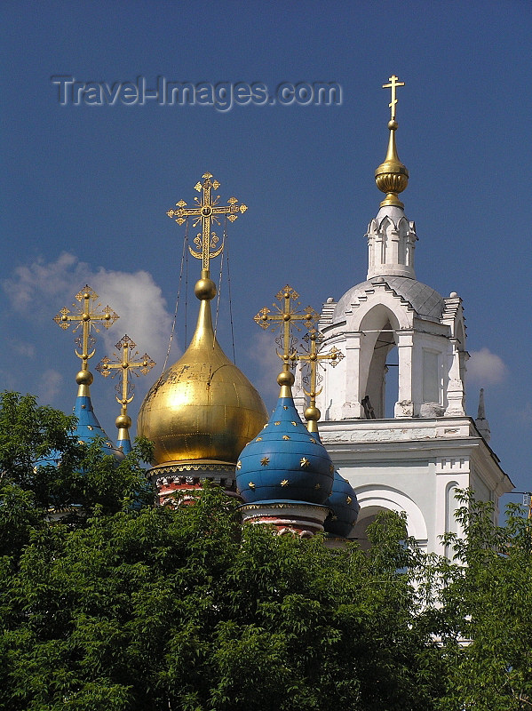 russia678: Russia - Moscow: Onion domes of Orthodox church - photo by J.Kaman - (c) Travel-Images.com - Stock Photography agency - Image Bank