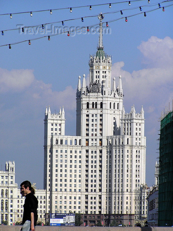 russia694: Russia - Moscow: High-rise building from Stalin's era - photo by J.Kaman - (c) Travel-Images.com - Stock Photography agency - Image Bank