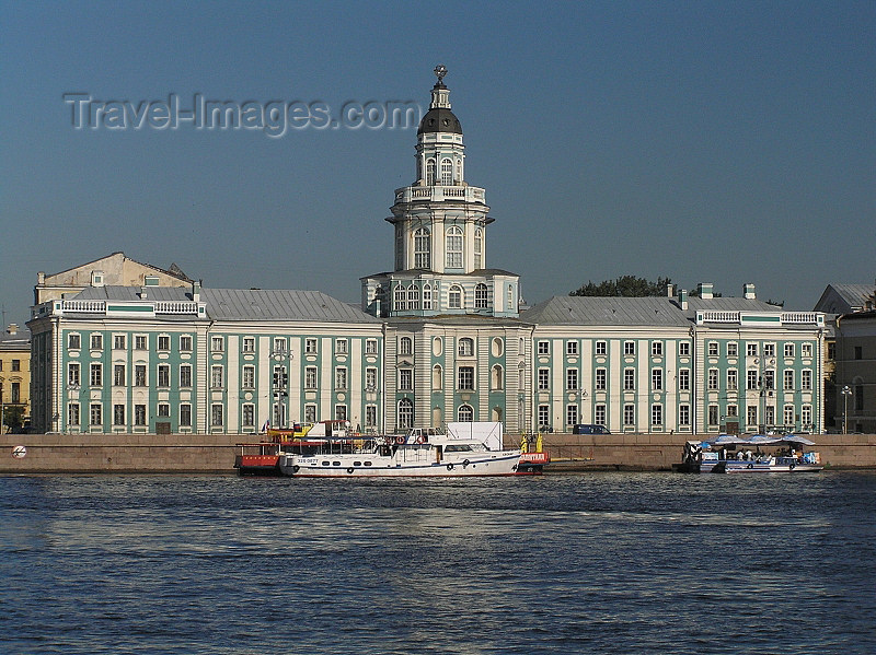 russia701: Russia - St Petersburg:  Museum of Anthropology and Neva embankment - photo by J.Kaman - (c) Travel-Images.com - Stock Photography agency - Image Bank