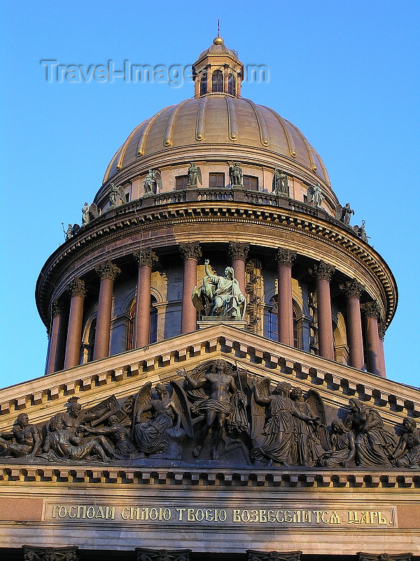 russia730: Russia - St Petersburg: dome of St Isaac's Cathedral - photo by J.Kaman - (c) Travel-Images.com - Stock Photography agency - Image Bank