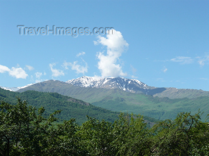 russia774: Chechnya, Russia - landscape with mountains in summer - Northern Caucasus mountains - photo by A.Bley - (c) Travel-Images.com - Stock Photography agency - Image Bank