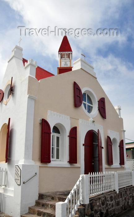saba76: Windwardside, Saba: St Paul's Catholic church - photo by M.Torres - (c) Travel-Images.com - Stock Photography agency - Image Bank