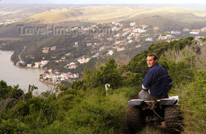 safrica167: South Africa - Quad Biking the Knysna heads, Knysna - photo by B.Cain - (c) Travel-Images.com - Stock Photography agency - Image Bank