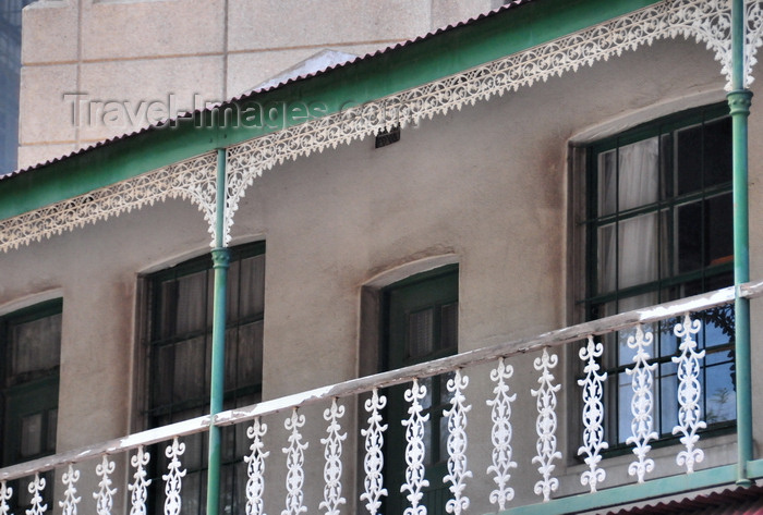 safrica225: Johannesburg, Gauteng, South Africa: Victorian balconies on Diagonal St - CBD - photo by M.Torres - (c) Travel-Images.com - Stock Photography agency - Image Bank