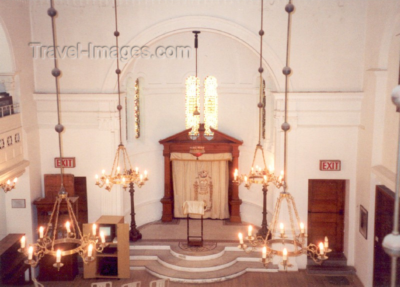 safrica23: South Africa - Cape Town: inside the Great Synagogue - Shul designed by architect J.Hogg - photo by M.Torres - (c) Travel-Images.com - Stock Photography agency - Image Bank