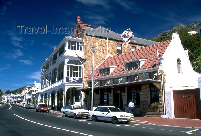 safrica58: South Africa - Simon's Town: historic naval town in the shadow of Table Mountain - photo by R.Eime - (c) Travel-Images.com - Stock Photography agency - Image Bank