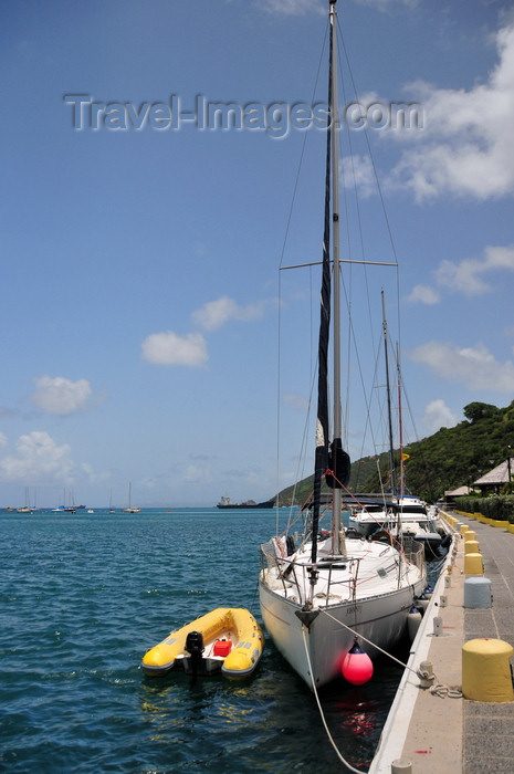 saint-barthelemy37: Gustavia, St. Barts / Saint-Barthélemy: yacht Johnny J - Beneteau Oceanis 321 - Gustavia harbour - photo by M.Torres - (c) Travel-Images.com - Stock Photography agency - Image Bank