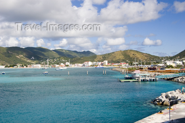 saint-martin1: Sint-Maarten - Pointe Blanche: view of the coast - photo by D.Smith - (c) Travel-Images.com - Stock Photography agency - Image Bank