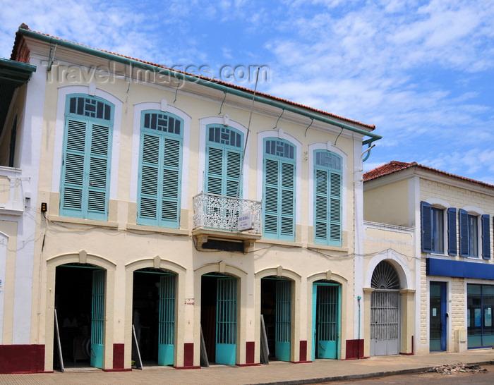 sao-tome218: São Tomé, São Tomé and Príncipe / STP: Ayres Beirão shop - / establecimento Ayres Beirão - Praça Amizade, Rua de Angola  - photo by M.Torres - (c) Travel-Images.com - Stock Photography agency - Image Bank