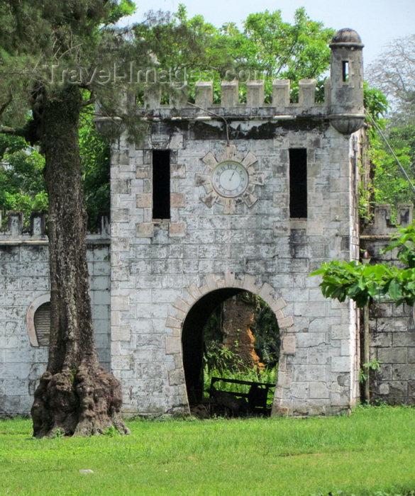 sao-tome314: Sundy Plantation / Roça Sundy, Príncipe island, São Tomé and Príncipe / STP: mock castle / castelo de fantasia - photo by G.Frysinger - (c) Travel-Images.com - Stock Photography agency - Image Bank