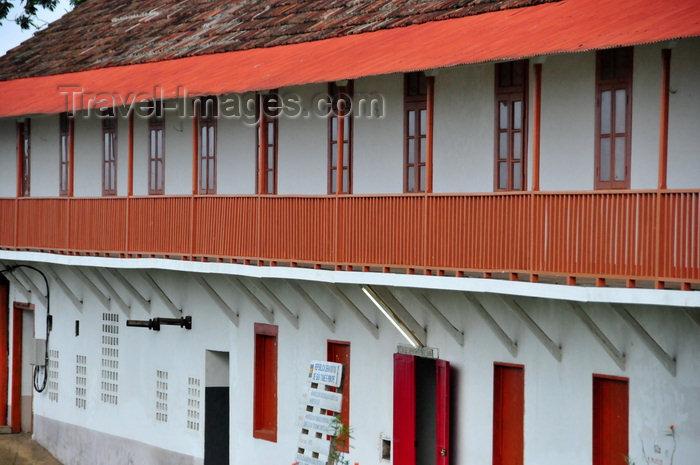sao-tome52: Roça Monte Café, Mé-Zóchi district, São Tomé and Príncipe / STP: coffee museum financed by the UN / Museu do Café - ex-oficina de Carpintaria e marcenaria - financiado pelo PNUD - photo by M.Torres - (c) Travel-Images.com - Stock Photography agency - Image Bank