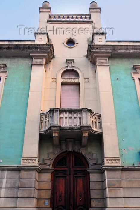 sardinia1: Olbia / Terranoa / Tarranoa, Olbia-Tempio province, Sardinia / Sardegna / Sardigna: façade with balcony on Corso Umberto I - photo by M.Torres - (c) Travel-Images.com - Stock Photography agency - Image Bank