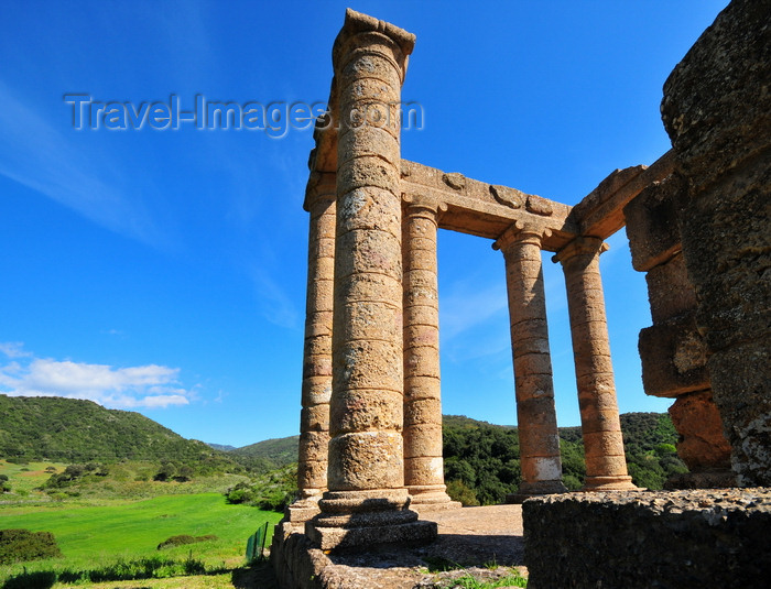 sardinia118: Sant'Angelo, Fluminimaggiore, Sardinia / Sardegna / Sardigna: Punic-Roman temple of Antas - view of the Antas valley - photo by M.Torres - (c) Travel-Images.com - Stock Photography agency - Image Bank