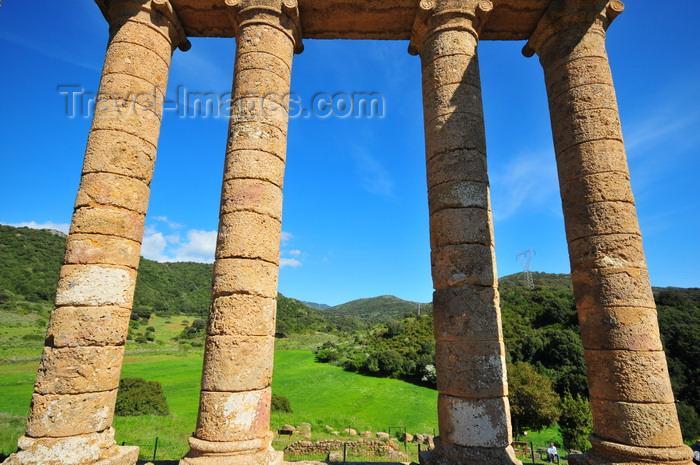 sardinia120: Sant'Angelo, Fluminimaggiore, Sardinia / Sardegna / Sardigna: Punic-Roman temple of Antas - tetrastyle portico - photo by M.Torres - (c) Travel-Images.com - Stock Photography agency - Image Bank
