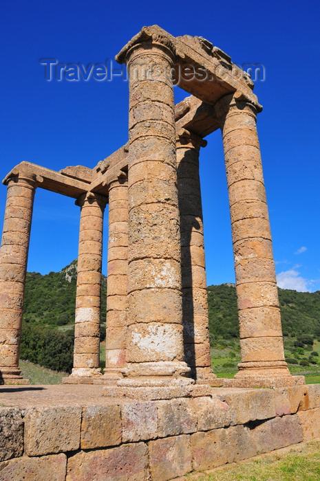 sardinia124: Sant'Angelo, Fluminimaggiore, Sardinia / Sardegna / Sardigna: Antas temple - built over an old nuragic place of worship - Tempio di Antas - photo by M.Torres - (c) Travel-Images.com - Stock Photography agency - Image Bank