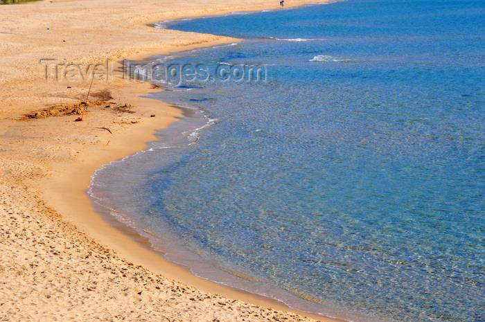 sardinia128: Portixeddu, Fluminimaggiore, Carbonia-Iglesias province, Sardinia / Sardegna / Sardigna: the beach - warm water of the Mediterranean - La Costa Verde - photo by M.Torres - (c) Travel-Images.com - Stock Photography agency - Image Bank
