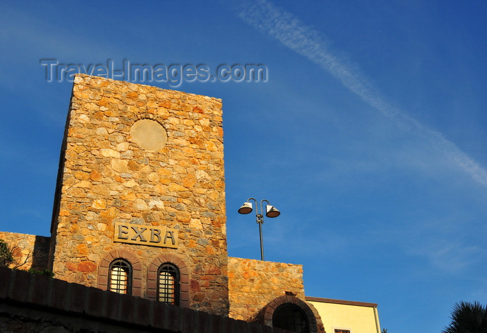 sardinia137: Buggerru, Sardinia / Sardegna / Sardigna: tower of Terrazza ExBa - photo by M.Torres - (c) Travel-Images.com - Stock Photography agency - Image Bank