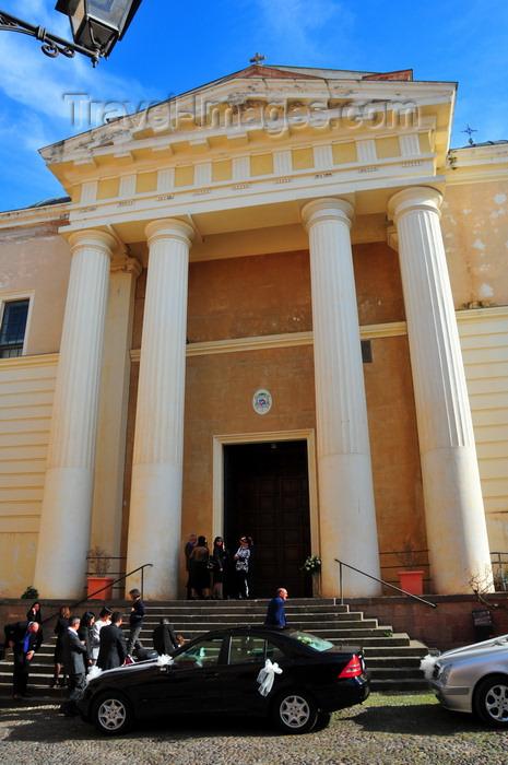 sardinia159: Alghero / L'Alguer, Sassari province, Sardinia / Sardegna / Sardigna: Cathedral of Santa Maria Immacolata di Alghero - waiting for the wedding - photo by M.Torres - (c) Travel-Images.com - Stock Photography agency - Image Bank