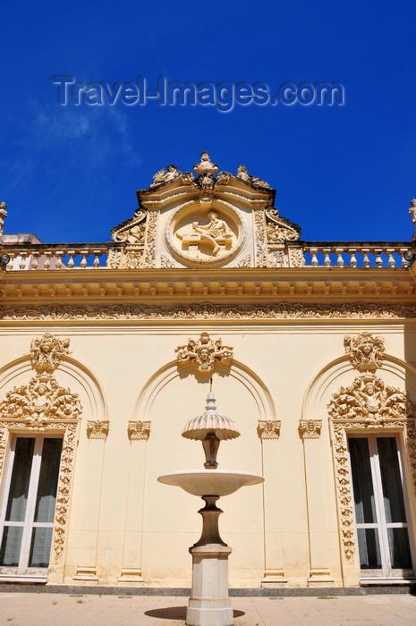 sardinia200: Sassari / Tàthari , Sassari province, Sardinia / Sardegna / Sardigna: offices of the Sardinian Region - Palazzo Cugurra - fountain - photo by M.Torres - (c) Travel-Images.com - Stock Photography agency - Image Bank