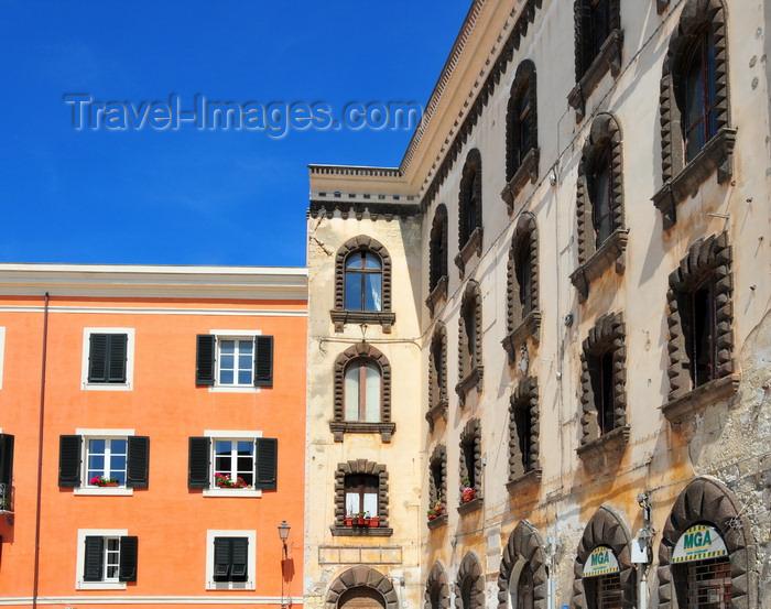 sardinia210: Sassari / Tàthari , Sassari province, Sardinia / Sardegna / Sardigna: palazzo Tola - piazza Tola - Carra Manna - photo by M.Torres - (c) Travel-Images.com - Stock Photography agency - Image Bank