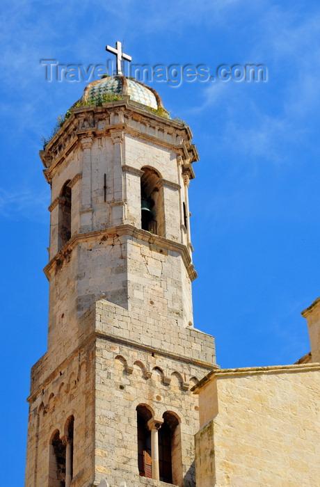 sardinia219: Sassari / Tàthari , Sassari province, Sardinia / Sardegna / Sardigna: Cathedral of St. Nicholas of Bari - Romanesque bell tower - photo by M.Torres - (c) Travel-Images.com - Stock Photography agency - Image Bank