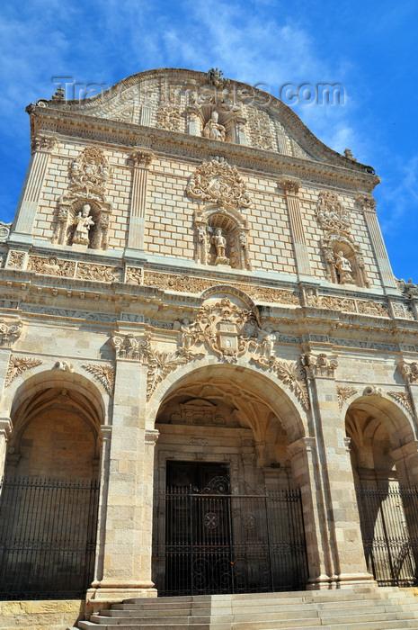 sardinia220: Sassari / Tàthari , Sassari province, Sardinia / Sardegna / Sardigna: Cathedral of St. Nicholas of Bari - Spanish Baroque façade - photo by M.Torres - (c) Travel-Images.com - Stock Photography agency - Image Bank