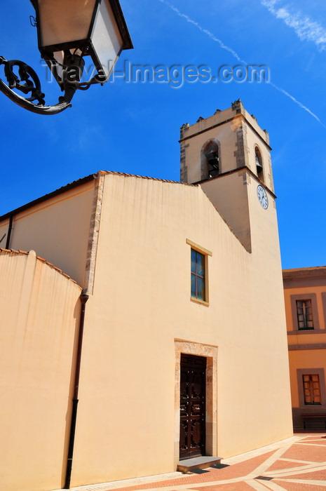 sardinia281: Muravera / Murèra, Cagliari province, Sardinia / Sardegna / Sardigna: church of St Nicholas - chiesa di San Nicola di Bari - Catalan Gothic - Sarrabus sub-region - photo by M.Torres - (c) Travel-Images.com - Stock Photography agency - Image Bank