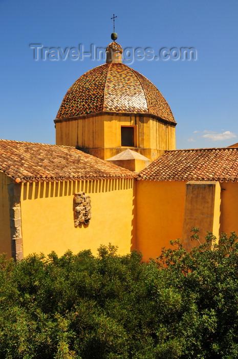sardinia61: Las Plassas / Is Pratzas, Medio Campidano province, Sardinia / Sardegna / Sardigna: Church of Santa Maria Maddalena - photo by M.Torres - (c) Travel-Images.com - Stock Photography agency - Image Bank