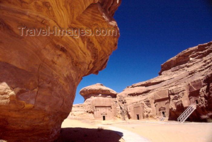 saudi-arabia126: Saudi Arabia - Madain Salah / Hegra: Al-Mahajar area (photo by F.Rigaud) - (c) Travel-Images.com - Stock Photography agency - Image Bank