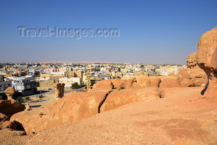 saudi-arabia77: Saudi Arabia - Riyadh: water reservoir - water tower (photo by F.Rigaud) - (c) Travel-Images.com - Stock Photography agency - Image Bank