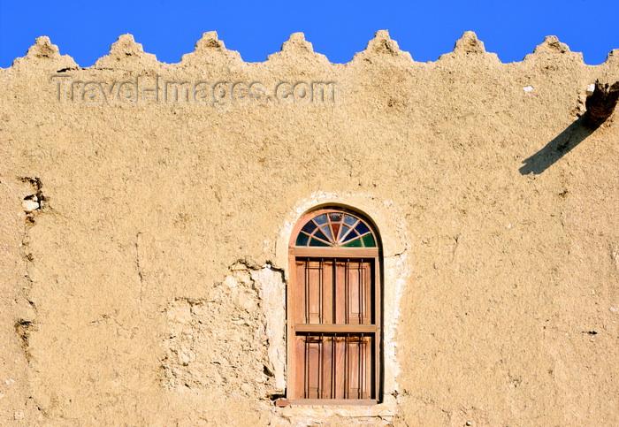 saudi-arabia89: Saudi Arabia - Riyadh: segment of the city walls (photo by F.Rigaud) - (c) Travel-Images.com - Stock Photography agency - Image Bank