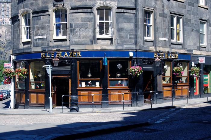 scot110: Scotland - Edinburgh: The Blue Blazer Pub  - Spittal Street, Grassmarket - photo by C.McEachern - (c) Travel-Images.com - Stock Photography agency - Image Bank
