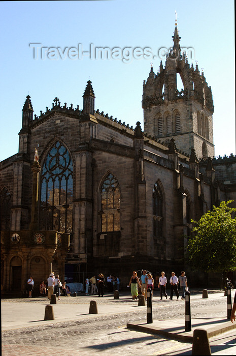 scot124: Scotland - Edinburgh: Saint Giles Cathedral, High Street - The Royal Mile - photo by C.McEachern - (c) Travel-Images.com - Stock Photography agency - Image Bank