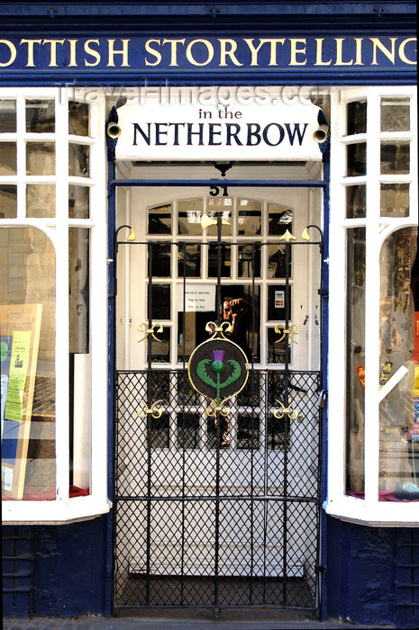 scot125: Scotland - Edinburgh: An attractive storefront just up the street from the John Knox House - photo by C.McEachern - (c) Travel-Images.com - Stock Photography agency - Image Bank