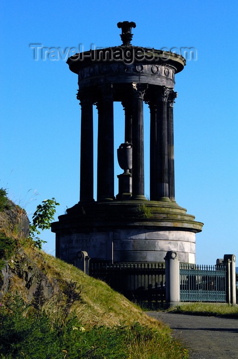 scot131: Scotland - Edinburgh: memorial to Scottish philosopher Dugald Stewart, Calton Hill - photo by C.McEachern - (c) Travel-Images.com - Stock Photography agency - Image Bank