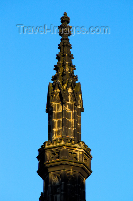 scot140: Scotland - Edinburgh: Spire of the Sir Walter Scott monument, Princes Street, New Town - photo by C.McEachern - (c) Travel-Images.com - Stock Photography agency - Image Bank