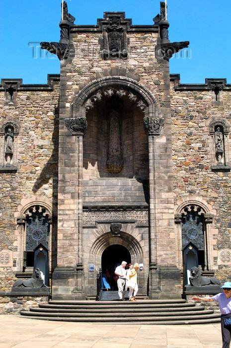scot145: Scotland - Edinburgh: exterior view of the Scottish National War Memorial at Edinburgh Castle - photo by C.McEachern - (c) Travel-Images.com - Stock Photography agency - Image Bank