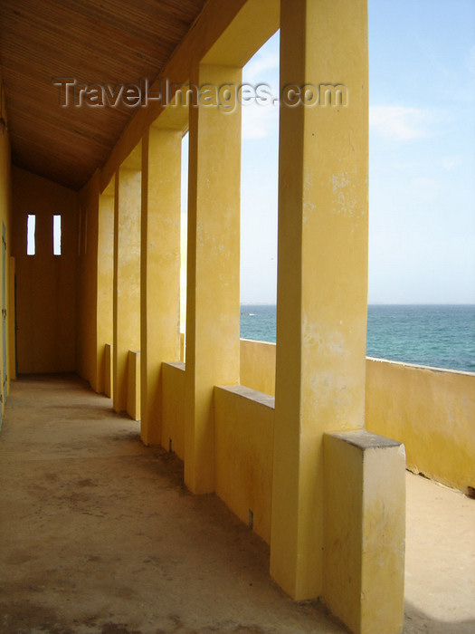 senegal3: Senegal - Gorée Island - House of Slaves - view to the sea - UNESCO world heritage site - photo by G.Frysinger - (c) Travel-Images.com - Stock Photography agency - Image Bank
