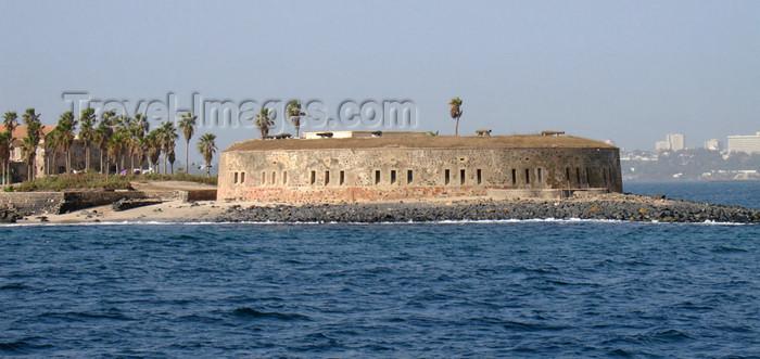 senegal36: Senegal - Gorée Island - Fort D'Estrees facing Dakar harbor - now a Black African Museum - UNESCO world heritage site - photo by G.Frysinger - (c) Travel-Images.com - Stock Photography agency - Image Bank