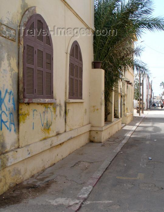 senegal69: Senegal - Saint Louis: colonial street - photo by G.Frysinger - (c) Travel-Images.com - Stock Photography agency - Image Bank